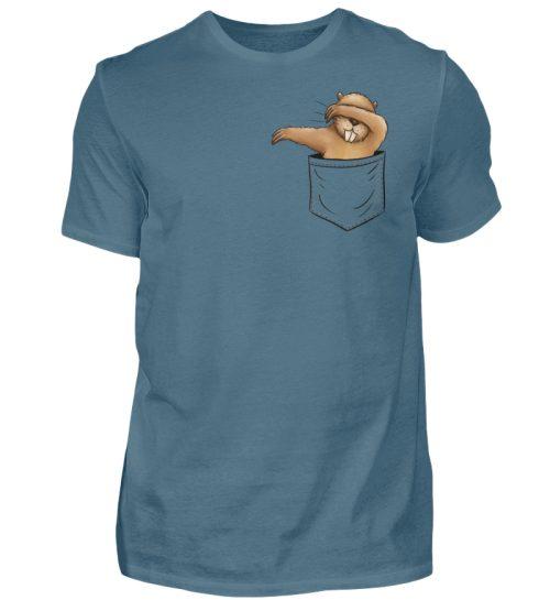 Dabbender Biber in Deiner Tasche - Herren Shirt-1230