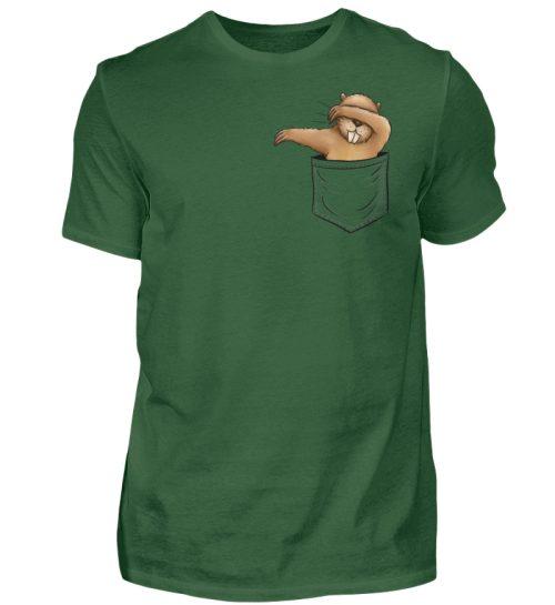 Dabbender Biber in Deiner Tasche - Herren Shirt-833