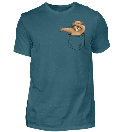 Dabbender Biber in Deiner Tasche - Herren Shirt-1096