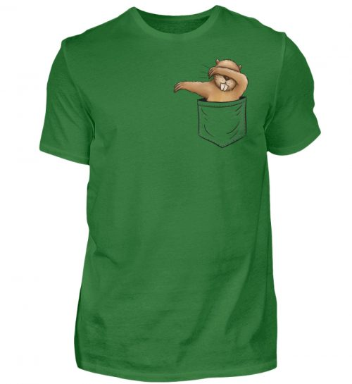 Dabbender Biber in Deiner Tasche - Herren Shirt-718