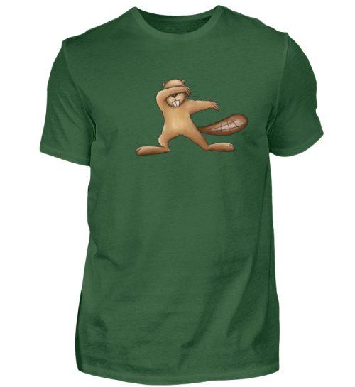 Lustiger dabbender Biber - Herren Shirt-833