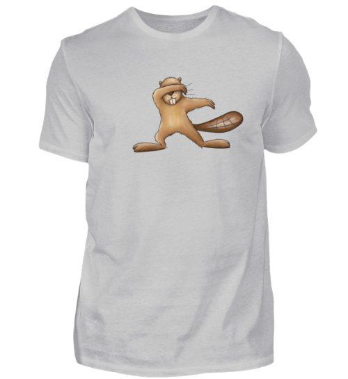 Lustiger dabbender Biber - Herren Shirt-1157