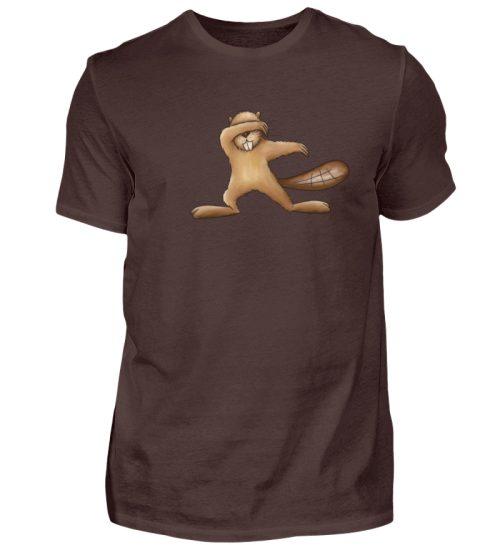 Lustiger dabbender Biber - Herren Shirt-1074