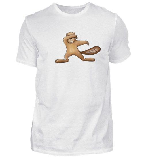 Lustiger dabbender Biber - Herren Shirt-3