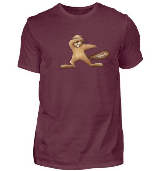 Lustiger dabbender Biber - Herren Shirt-839