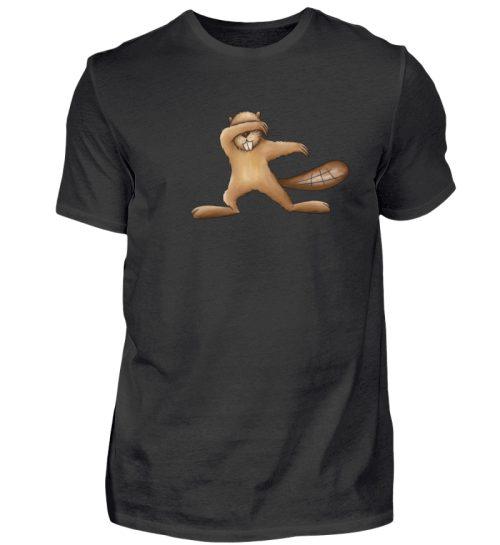 Lustiger dabbender Biber - Herren Shirt-16