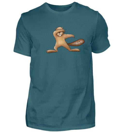 Lustiger dabbender Biber - Herren Shirt-1096