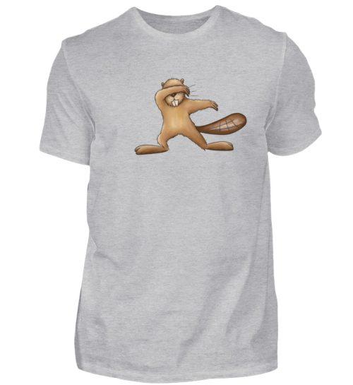 Lustiger dabbender Biber - Herren Shirt-17