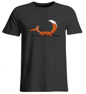 Lässiger cooler Fuchs | Mr. Fox, der Schleicher - Übergrößenshirt-639