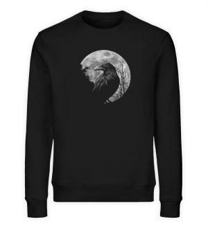 Vollmond-Rabe - Unisex Organic Sweatshirt-16