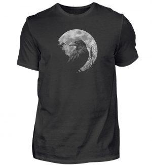 Vollmond-Rabe - Herren Shirt-16