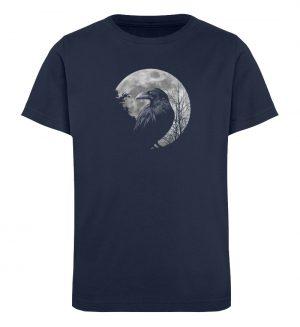 Vollmond-Rabe - Kinder Organic T-Shirt-6887
