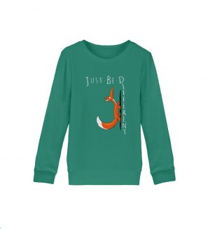 Just Be Different   Sei Anders, kleiner Fuchs - Organic Kinder Sweatshirt ST/ST-6929